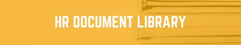 HR Document Library Banner