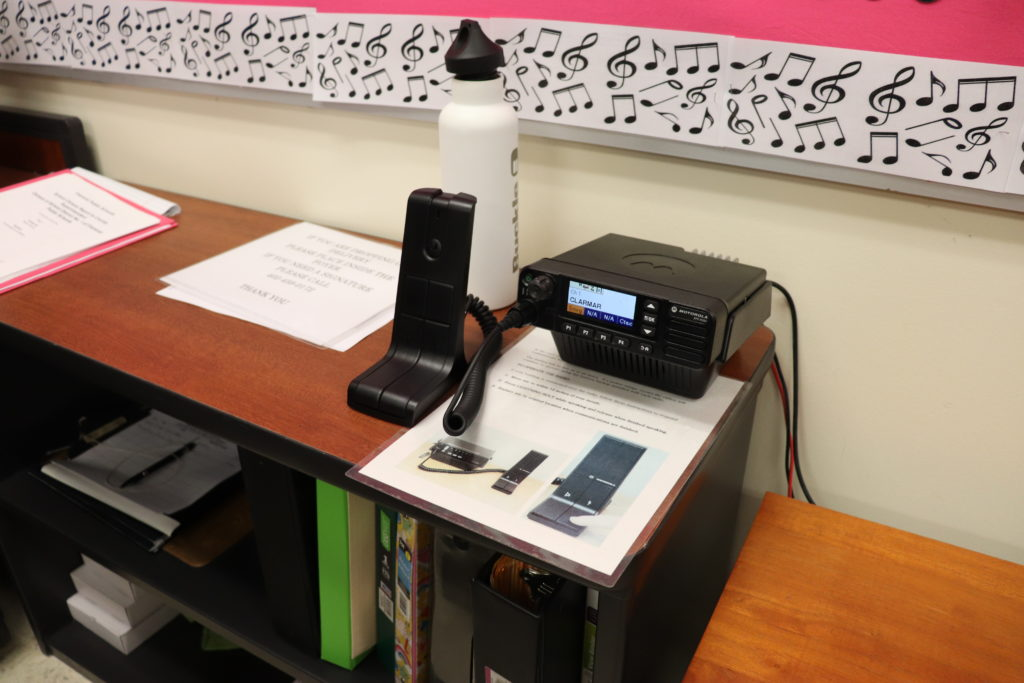 Radio Communication Base Clarmar Elementary