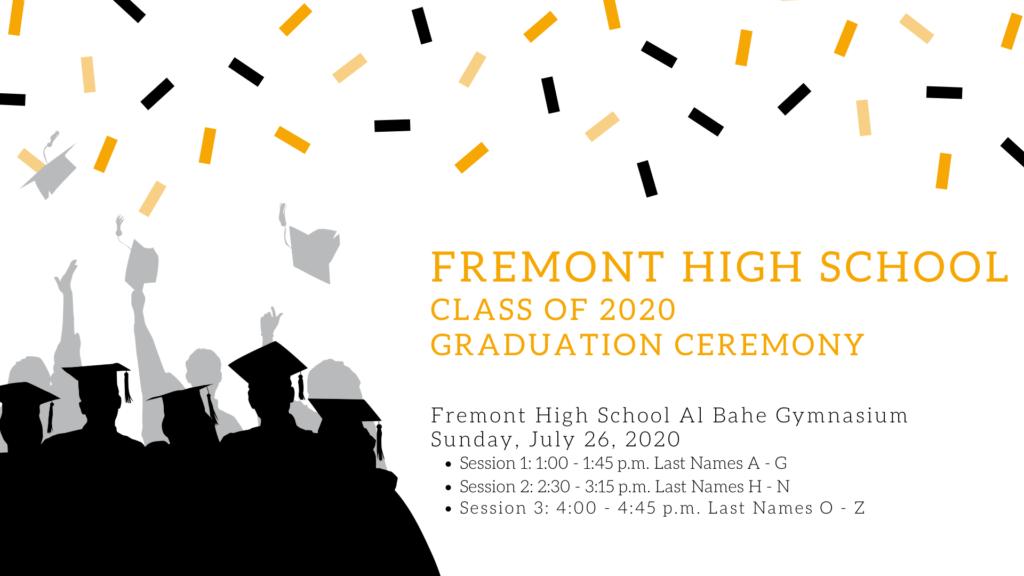 Graduation celebration annoucement